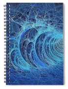 Frosty Briar Patch Spiral Notebook