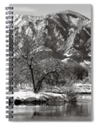 Frosty Flatirons 2 Spiral Notebook