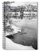 Frosty Flatirons Spiral Notebook