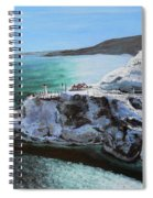 Frosty Fort Amherst Spiral Notebook