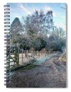 Frosty Lane Spiral Notebook