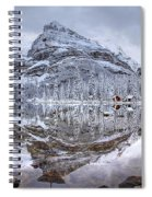 Frosty Morning In Pano Spiral Notebook