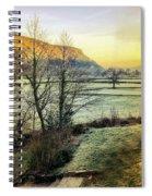 Frosty Morning Light Spiral Notebook