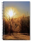 Frosty Morning Spiral Notebook