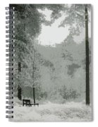 Frosty Paradise Spiral Notebook