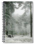 Frosty Paradise Spiral Notebook