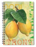 Froyo Lemon Spiral Notebook
