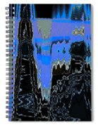 Frozen Air Conditioner Spiral Notebook