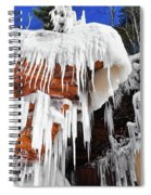Frozen Apostle Islands National Lakeshore Spiral Notebook
