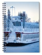 Frozen Attraction Spiral Notebook