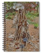 Frozen Banana Tree In Colored Pencil Spiral Notebook