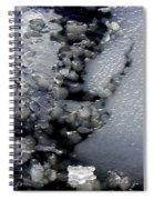 Frozen Blue 2 Spiral Notebook