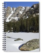 Frozen Colorado  Spiral Notebook