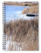 Frozen Dock Spiral Notebook