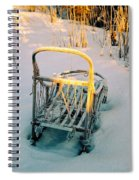 Frozen Dogsled Spiral Notebook