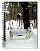 Frozen Glider Spiral Notebook