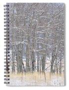 Frozen Limbs Spiral Notebook