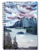 Frozen River Spiral Notebook