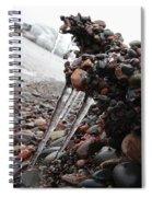 Frozen Shoreline Spiral Notebook