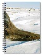 Frozen Shores Spiral Notebook