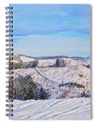 Frozen Valley 2 V3 Spiral Notebook