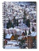 Frozen Village V2 Spiral Notebook