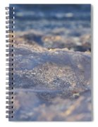 Frozen Wave Spiral Notebook