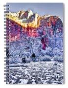 Frozen Zion Spiral Notebook