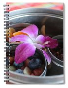 Fruit And Flowers Spiral Notebook