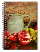 Fruit And Pitcher Spiral Notebook