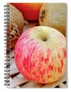 Fruit Basket. Apple. Spiral Notebook