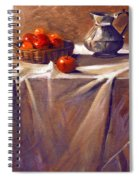 Fruit By Candle Light Spiral Notebook