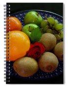 Fruit Dish Spiral Notebook