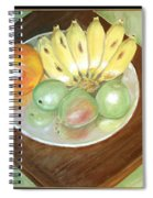 Fruit Plate Spiral Notebook