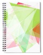 Fruit Polygon Pattern Spiral Notebook