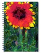 Fruit Salad Flower Spiral Notebook