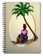 Fruit Seller Spiral Notebook