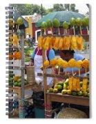 Fruit Stand Antigua  Guatemala Spiral Notebook