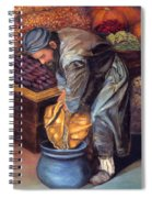 Fruit Vendor Spiral Notebook