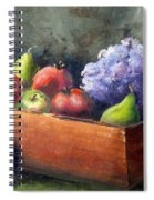 Fruit With Hydrangea Spiral Notebook