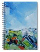 Fruitgum Landscape Spiral Notebook