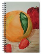 Fruits Of All Seasons Spiral Notebook