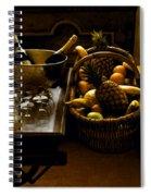Fruits Of France Spiral Notebook