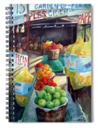 Fruitstand Rhythms Spiral Notebook