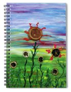 Fruity Flowerfield Spiral Notebook
