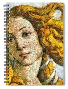 Fruity Venus I Am So Sorry Mr Boticelli Spiral Notebook