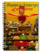 Frutas Y Verduras Spiral Notebook