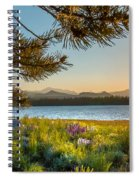 Frye Lake Flowers Spiral Notebook