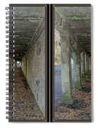 Ft. Howard Pk- Tunnel Effect - 3d Stereo X-view Spiral Notebook