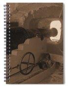 Ft Sumpter Battery Spiral Notebook